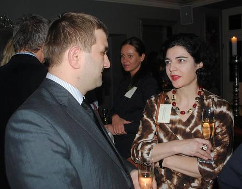 Monthly Dinner with Minister of Economy Vjačeslavs Dombrovskis