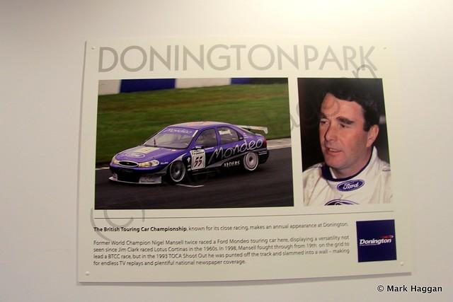 Nigel Mansell at Donington Park