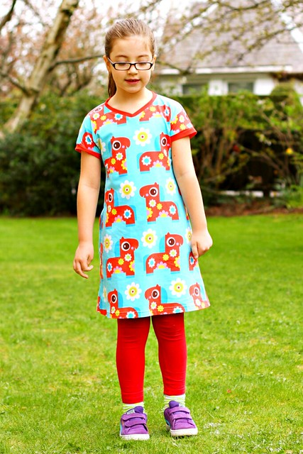 KCW: Pony Bloom dress