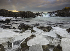 'Rainbows & Falls' - Urridafoss, Iceland