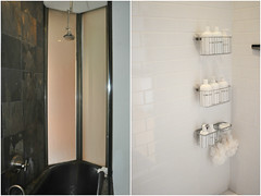 bathroom cabinet(0.0), sink(0.0), floor(1.0), room(1.0), interior design(1.0), plumbing fixture(1.0), shower(1.0), bathroom(1.0),