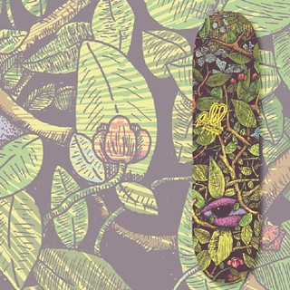 ilustración concursó #allskateboards    #natura #ink #illustration #eyes #draw #skate#boards