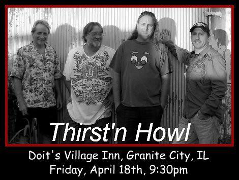 Thirst'n Howl 4-18-14