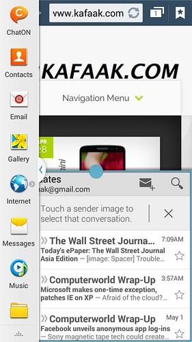 ใช้งาน Multi-window บน Samsung Galaxy Note 3 Neo