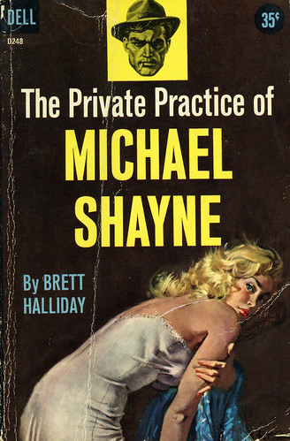 Dell Books D248 - Brett Halliday - The Private Practice of Michael Shayne
