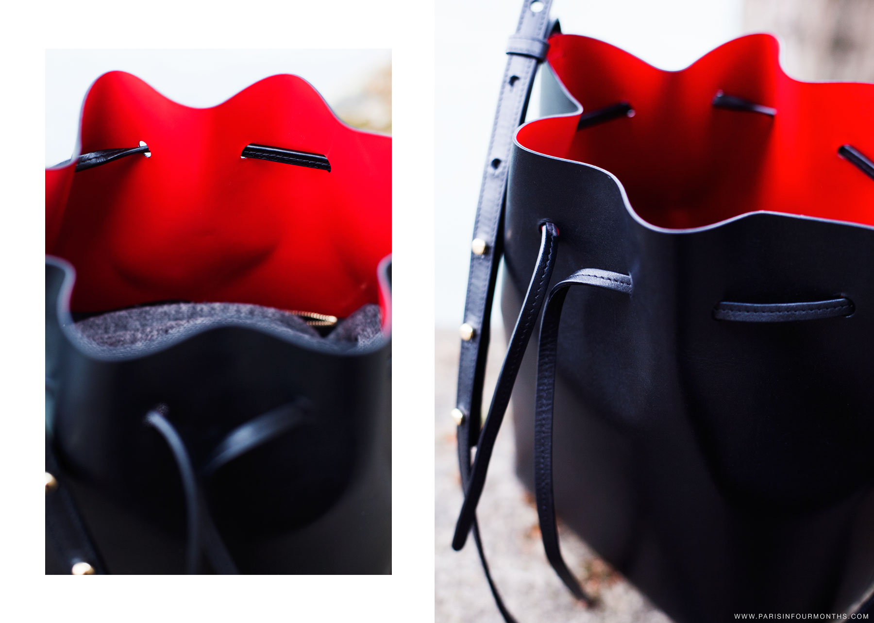 Mansur Gavriel bucket bag by Carin Olsson (Paris in Four Months)