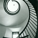 The Library Spiral Staircase, 1997 by lizkentleon