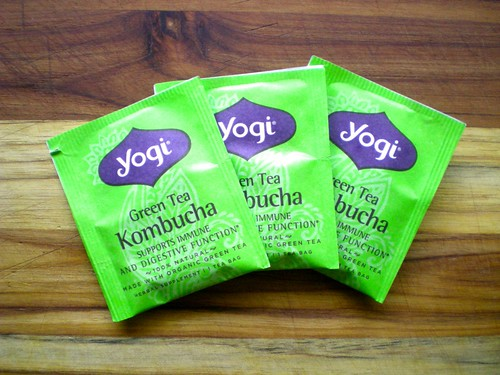 yogi kombucha green tea