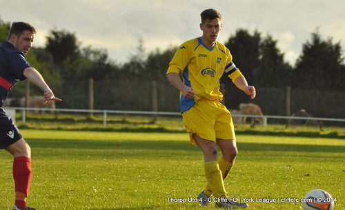 Cliffe FC 0 - 4 Thorpe Utd 7May14