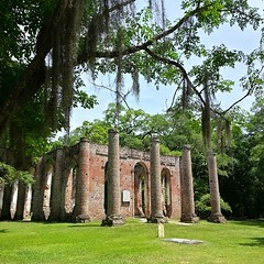 The #NoFilter Version of the Old Sheldon Church Ruins. #SC #Lowcountry