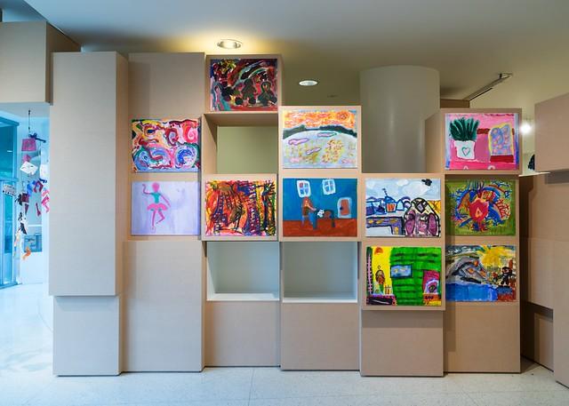 Installation Views: A Year With Children 2014