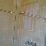 Tiled Shower and Tub Combo