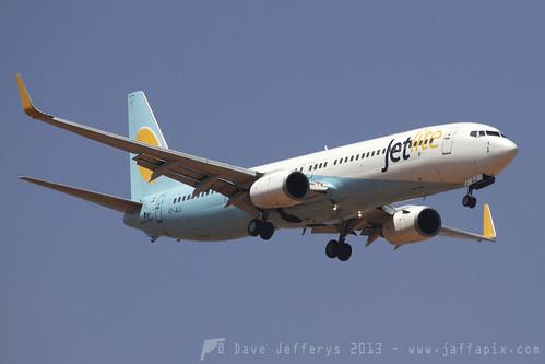 Aircraft (B739) silhouette