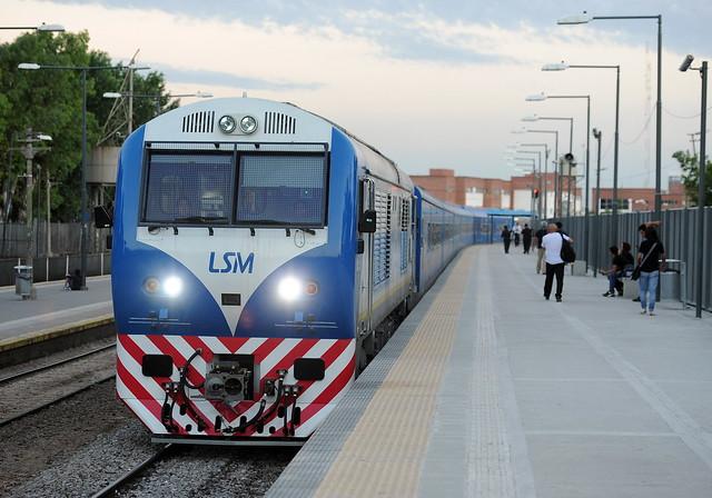 Puesta en funcionamiento de las nuevas formaciones para la Línea San Martín