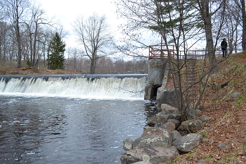 Dam on Scriba Creek, where we used to go swimming when I was about 10 years old