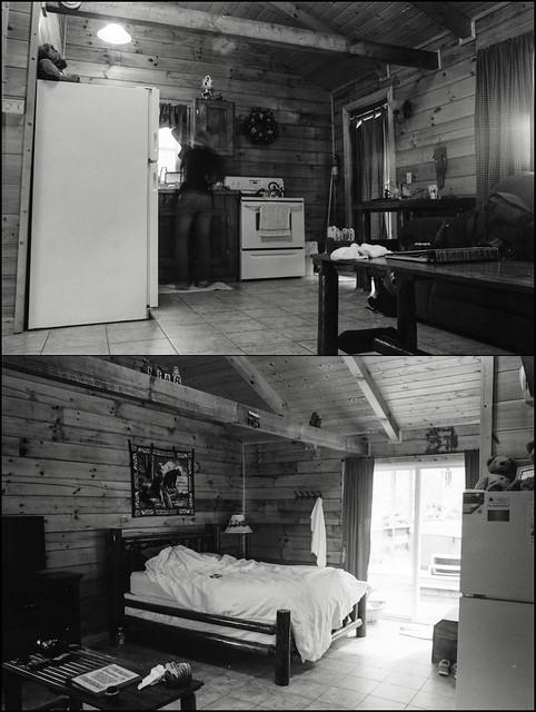 Cabin Interior Diptych