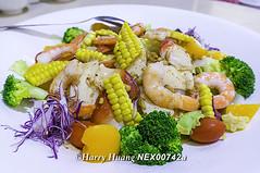 NEX_00742a,和風沙拉,海鮮沙拉,沙拉,蝦子…