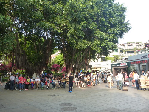 Fujian-Gulang Yu- Centre de l'ile-Ruelles (2)