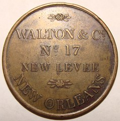 Walton New Orleans token obverse