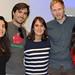 Katia Morales (Conectora OS México), Felipe Parragué (TuTanda), Cristina Palacios (Rides), Antoine Pérouze (DadaRoom) y Pía Giudice (Idea.me)