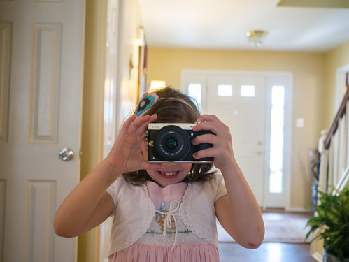 A budding photographer