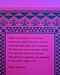 A Vinci, [...], di Morten Søndergaard. Del Vecchio edizioni 2013. Art direction, cover, logo: IFIX. Quarta di copertina (part.), 2