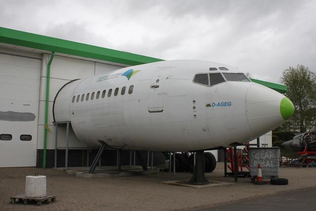 Fwd fuselage (D-AGEG)