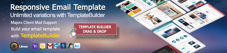 Responsive Email Template width TemplateBuilder