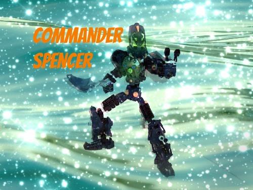 Commander Spencer poster