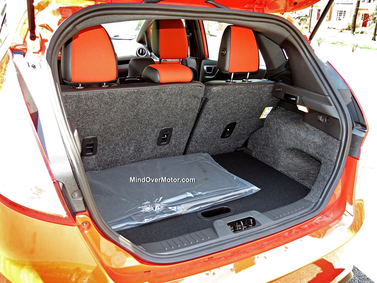 Ford Fiesta ST Trunk