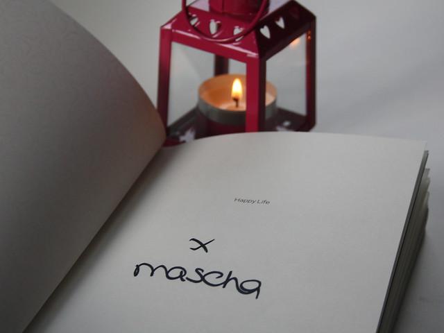 Mascha Beautygloss boek Happy Life