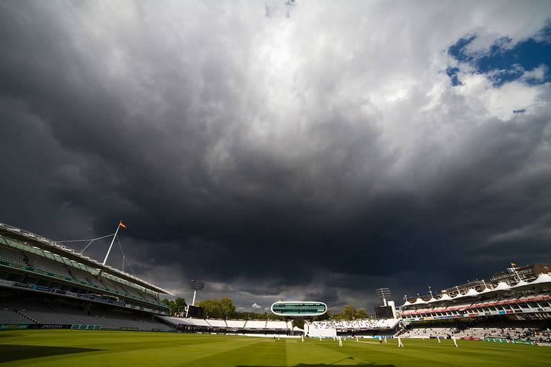 Clouds over Lord's Cricket Ground