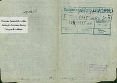 VII/6. Az alispán tájékoztatja a főszolgabírókat a zsidó törvények visszavonásáról, a származásuk miatt elbocsátott közalkalmazottak visszavételéről_0001
