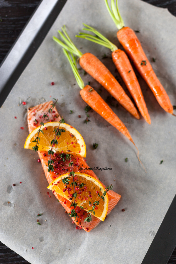 Roasted Salmon with Oranges-17