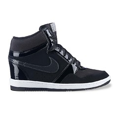 NIKE-Wedge-Sneaker-Black