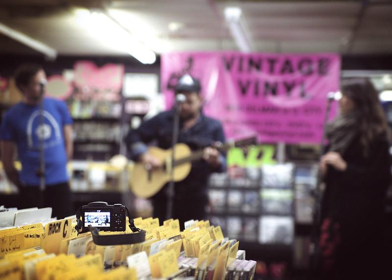 Nathaniel Rateliff @ Vintage Vinyl