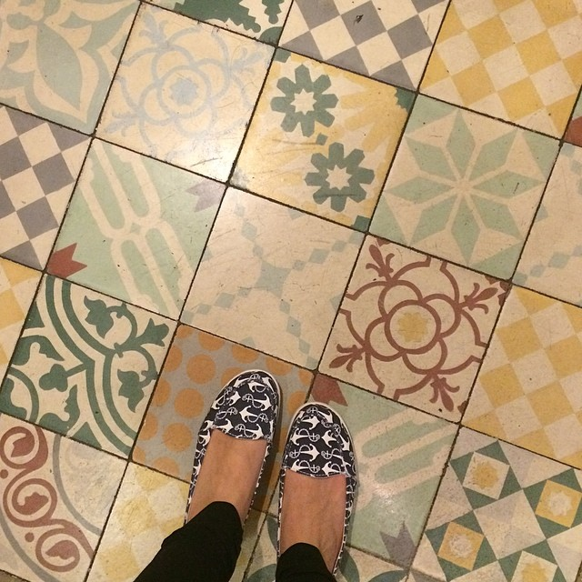 Lovely floors in La Ciudad Invisible