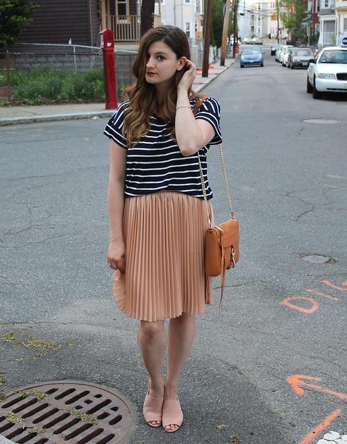 peach skirt 5