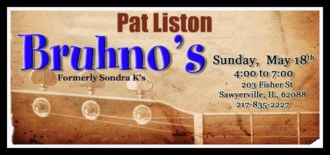 Pat Liston 5-18-14