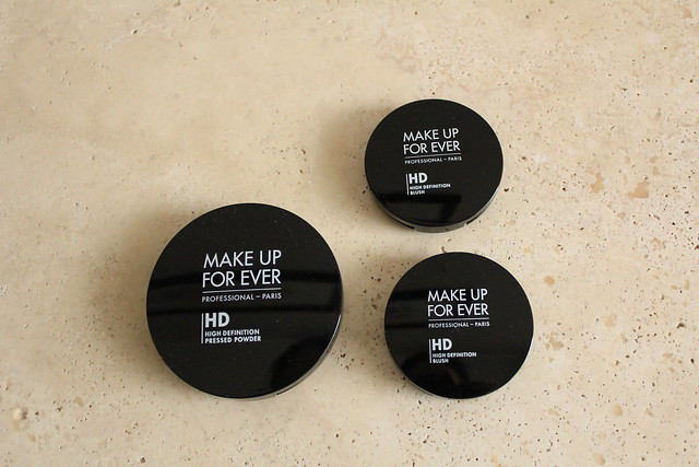Make Up For Ever HD powder and HD blush