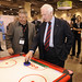 His Excellency the Right Honourable David Johnston, Governor General of Canada, touring the show floor