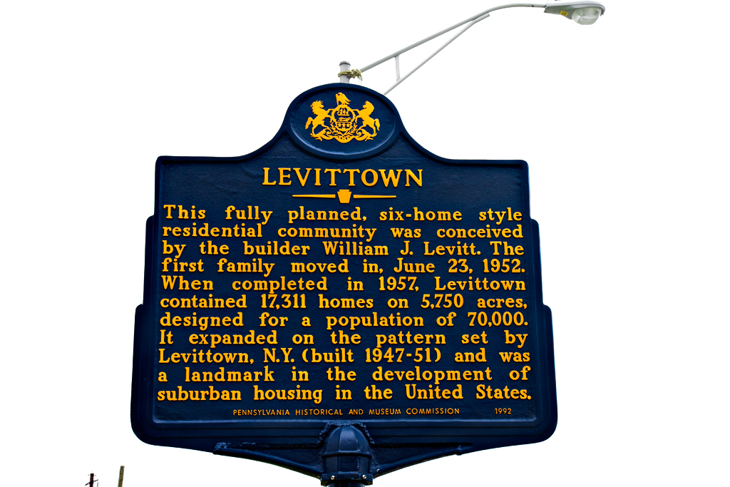 Historical-marker--Levittown