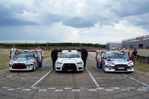 Pais, Carchat, Pons ACSM Rallye Team Test Kottar Burgos 2014