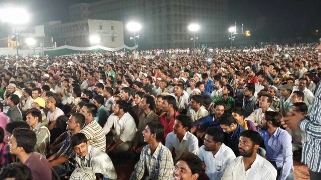 Massive Majlis in Hyderabad taunts UP Muslims for lack of unity