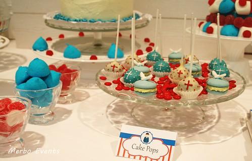 cakepops y macarons cumunión Merbo Events
