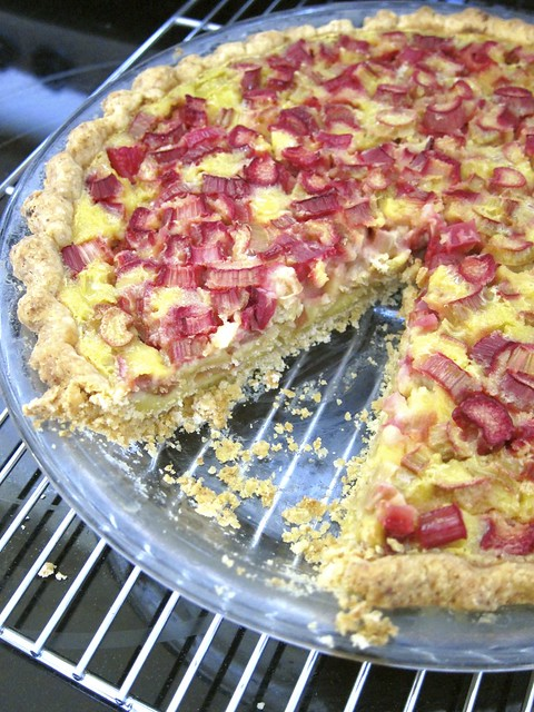 Rhubarb Buttermilk Pie
