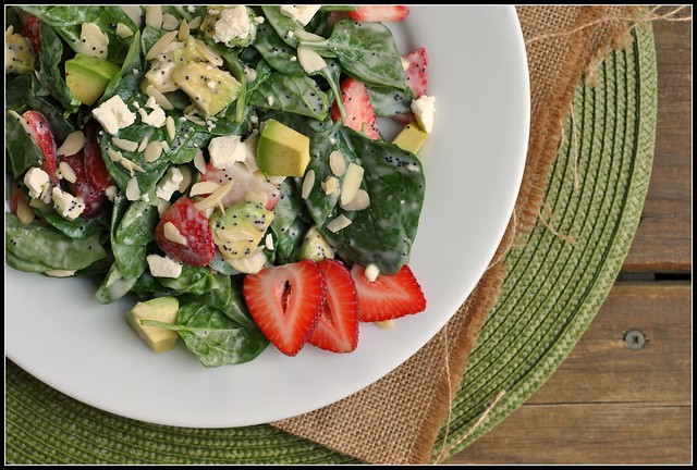 Strawberry Avocado Spinach Salad 2