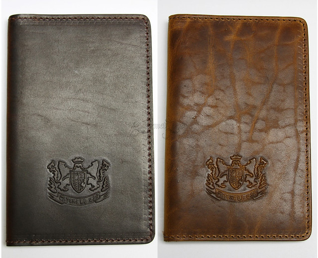 Mitchell Leather Journal Covers - Front Covers