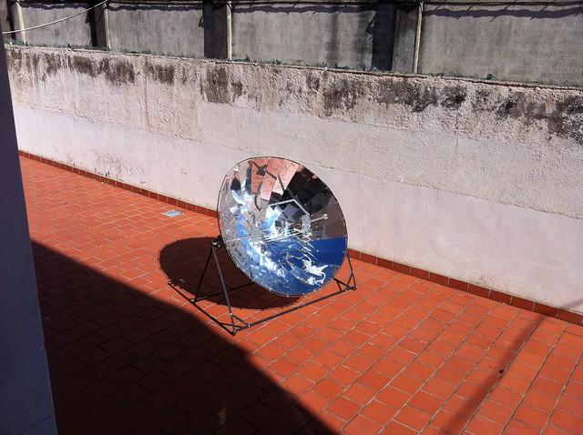 parabólica solar