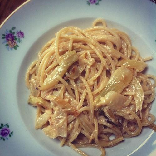 Favoriete pasta: venkel-room-citroen